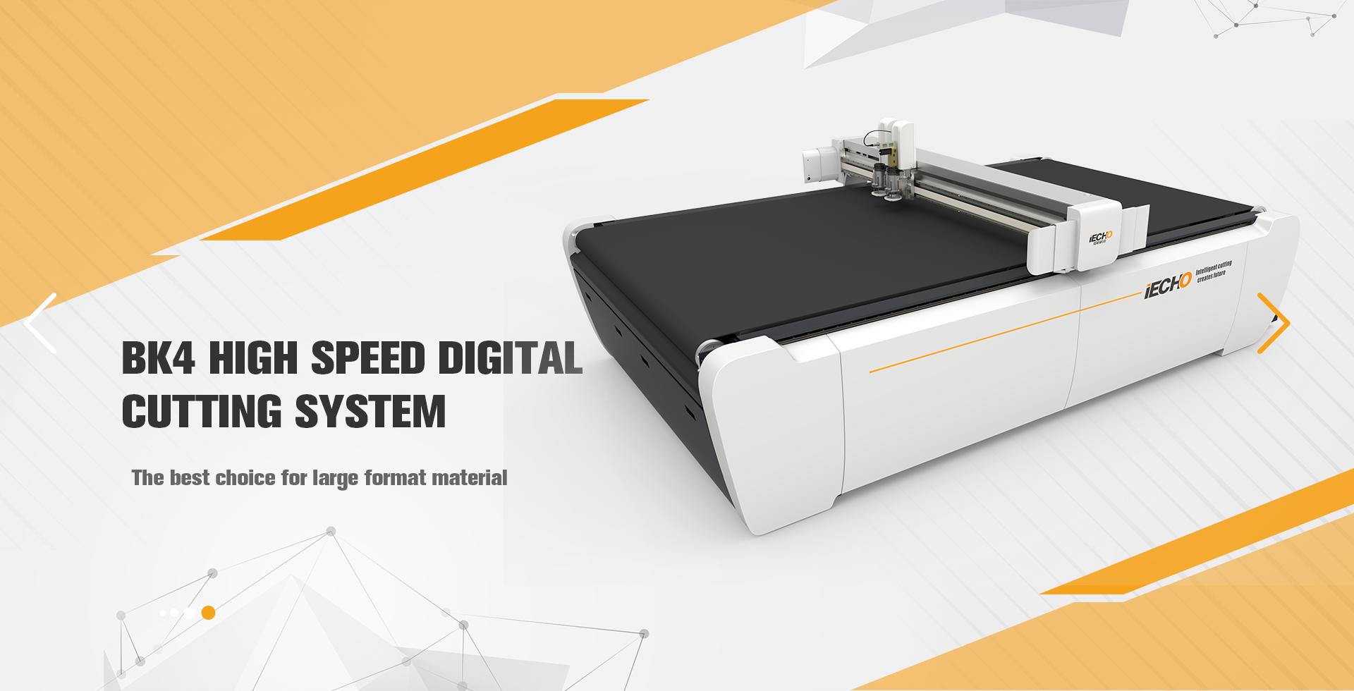 BK4 Hochgeschwindigkeits-Digitalschneidemaschine