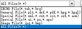 Erkennbare Dateitypen sind vielfältig