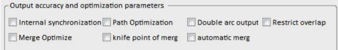 Ausgabegenauigkeit und Optimierungsparameter